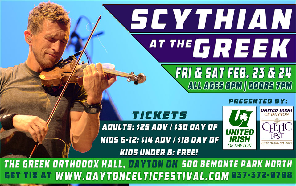 Scythian Concert - February 2018